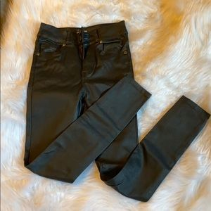 NEW NEVER WORN Cotton on faux leather skinny pant